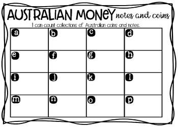 Australian Money: I Spy