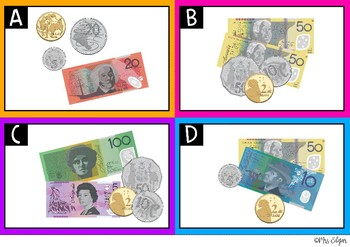 Australian Money Coins and Notes