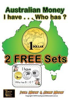Australian Money - I have ... Who has