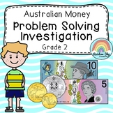 Australian Money Investigation - Money word problems - Year 2