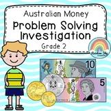 Australian Money Investigation - Australian Money word problems - Year 2