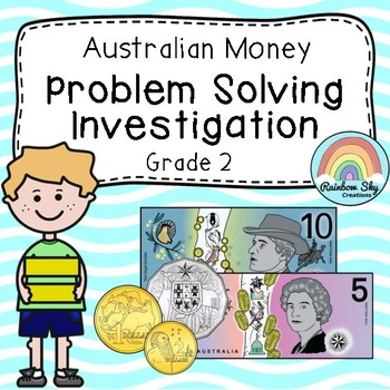 Australian Money Investigation - Australian Money word problems - Year 2