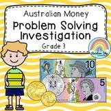 Australian Money Investigation - Money word problem - Year 3