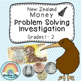 New Zealand Money Investigation - Money word problems - Years 1 & 2