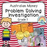 Australian Money Investigation - Money word problems - Year 4