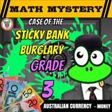 Australian Money Activity: Math Mystery Printable & Digital - Distance Learning