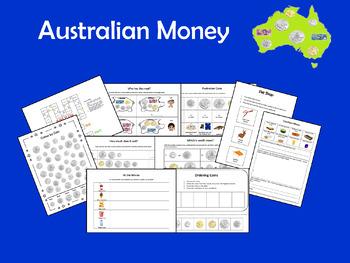 Australian Money - Maths Activities