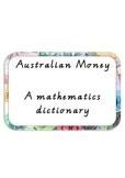 Maths Dictionary - Australian Money