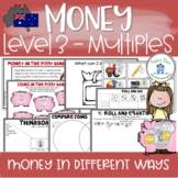 Australian Coin and Notes Money Multiples