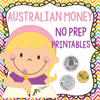 Australian Money No Prep Printable Worksheets