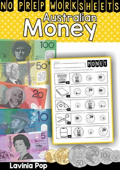 Australian Money No Prep Worksheets