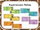 Australian Money Notes Posters