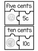 Australian Currency Number Puzzles