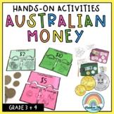 Australian Money Pack - Hands on activities - Year 3 & 4
