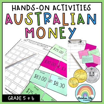 Australian Money Pack - Hands on activities - Year 5 & 6
