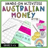 Australian Money Pack - Hands on Australian money activiti