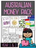 Australian Money Pack: Year 1 & 2 *Aligned with Australian