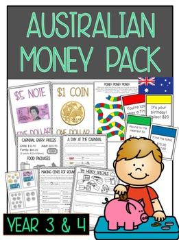 Australian Money Pack: Year 3 & 4 *Aligned with Australian