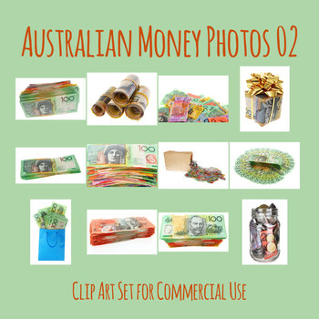 Australian Money Photo Set 02 Clip Art for Commercial Use