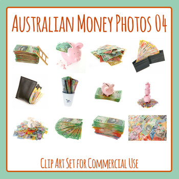 Australian Money Photo Set 04 Photograph Clip Art for Commercial Use