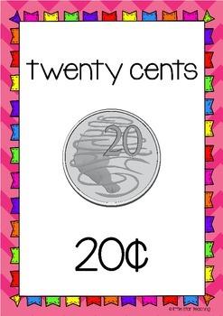Australian Money Poster Pack (Australian Curriculum)
