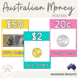 Australian Money Posters {Rainbow Classroom Decor}
