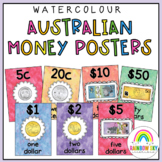 Australian Money Posters {Watercolour theme}