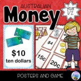 Australian Money Posters and Money Matching Game