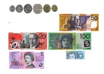 Australian Money Printable