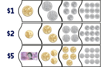 Australian Money Puzzles - Lower Primary Currency - Math Centre