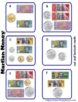 Australian Money Pack ~ Adding Money {11 Games & Centre Activities}