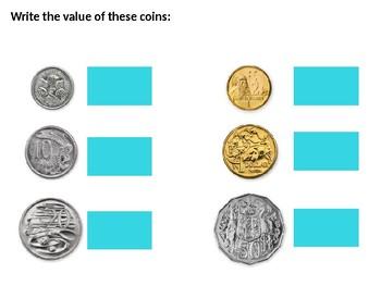 Australian Money Skills - Counting