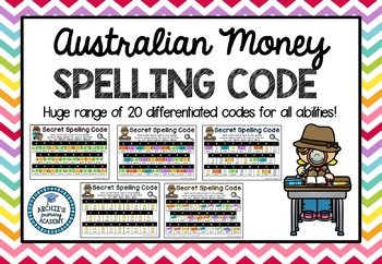 Australian Money Spelling Code
