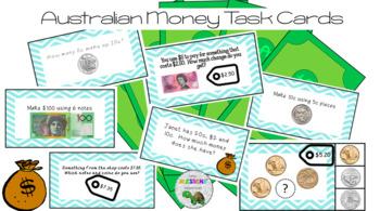 Australian Money Task Cards