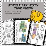 Australian Money Task Cards Higher Order Thinking Grade 5 Budgeting and Saving