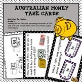 Australian Money Task Cards Higher Order Thinking HOTS Grade 6