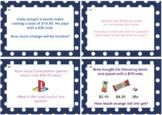 Australian Money Task Cards SAMPLE (Set of 4)