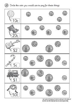 Australian Money Test F-6