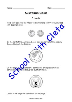 Australian Money (Coins): Their Images & Information About Them