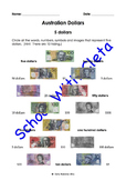 Australian Money (Dollar Notes): Their Images & Names Search & Find Matches