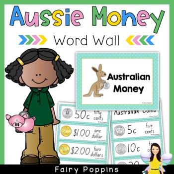 Australian Money Word Wall