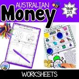 Australian Money Worksheets Year 2/3