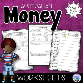 Australian Money Worksheets Year 2/3