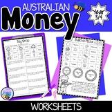 Australian Money Worksheets Year 3/4
