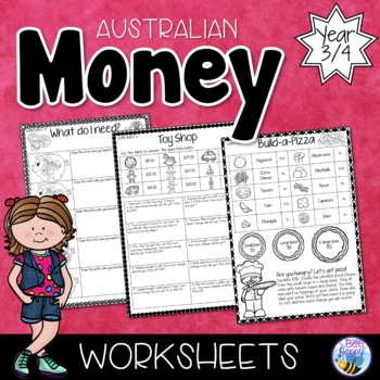 Australian Money Worksheets Year 3/4