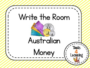 Australian Money {Write the Room}