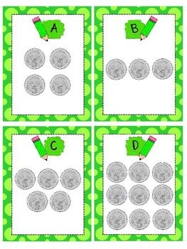 Australian Money Write the Room differentiated activity (Counting coins & notes)