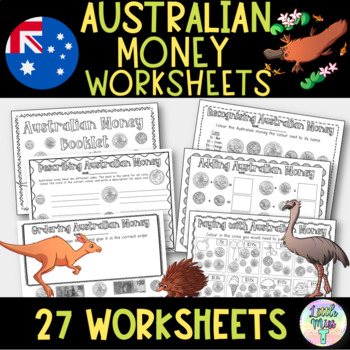 Australian Money worksheets