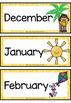 Australian Months Display