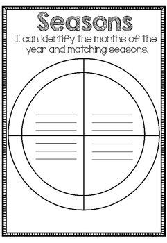 Australian Months and Seasons